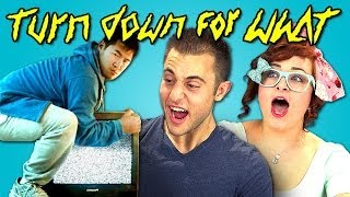 TEENS REACT TO EDM (Turn Down For What - DJ Snake & Lil Jon)