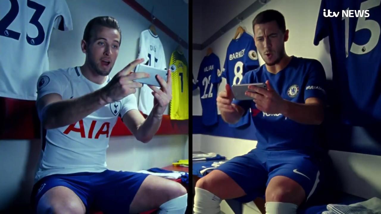 Otoño Ponte de pie en su lugar camarera  Nike's 'Nothing Beats A Londoner' advert accused of excluding Asian faces |  ITV News - YouTube