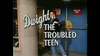 Dwight, the Troubled Teen Collection on Late Night, March/April 1991