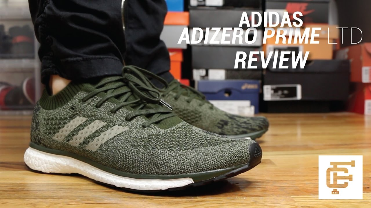 reputable site 5c474 bf2f5 ADIDAS ADIZERO PRIME LTD REVIEW - YouTube
