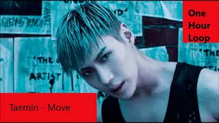 Video TAEMIN - MOVE [One hour loop] download MP3, 3GP, MP4, WEBM, AVI, FLV September 2018
