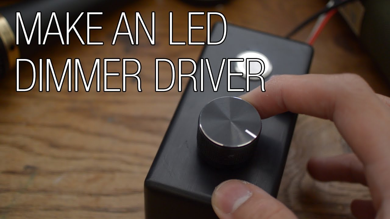 Build Your Own Led Dimmer Driver Youtube Dimmable Electronic Ballast Circuit Dimming Feature Included