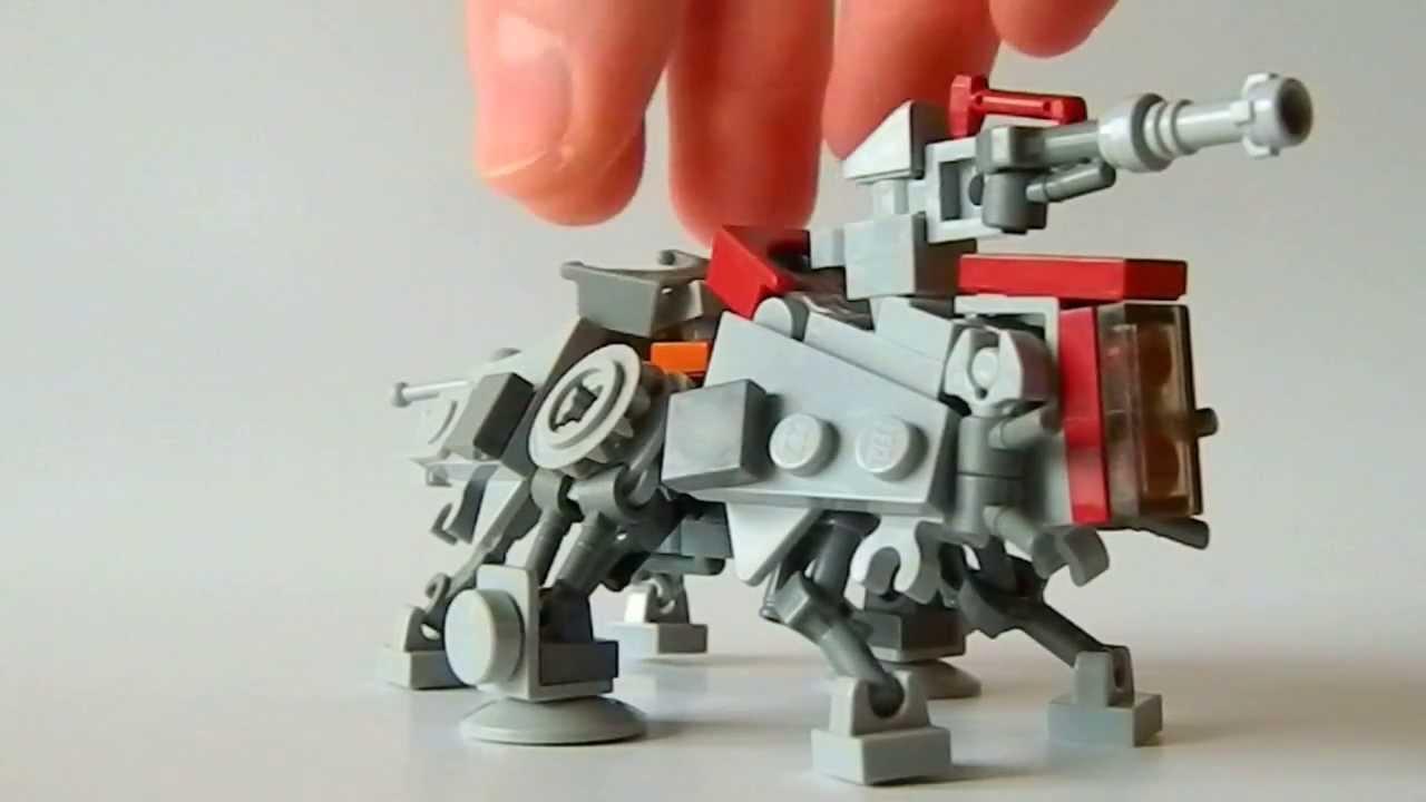 LEGO Star Wars MOC Mini-AT-TE (German) - YouTube