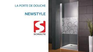 Porte de douche battante NewStyle SCHULTE - Castorama