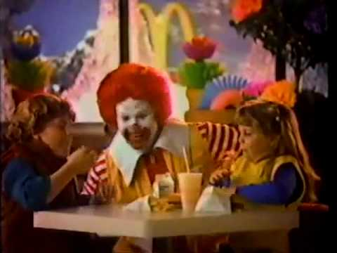 1980s McDonald's Commercial - YouTube