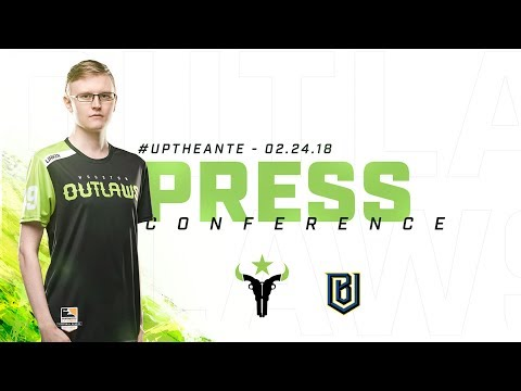 Houston Outlaws Press Conference Stage 2 Week 1 (Boston Uprising)