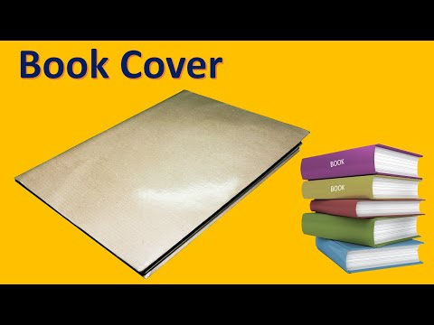 How to cover your text book easily but efficiently