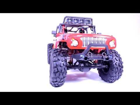 [캐스터 레이싱] 지프 락로켓 1/10 CJ10 Jeep Rock R