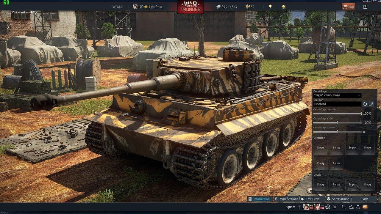 war thunder forum tiger