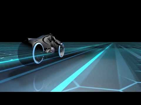 CGI Light cycle test - Cinema 4D