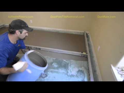 DustRam® System Phoenix Floor Leveling Ultra-Clean & Flat Concrete Leveling