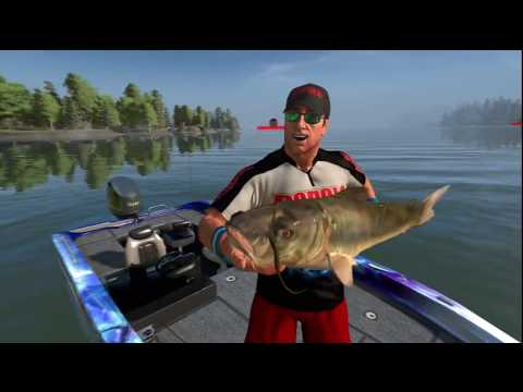 PS3 Rapala Pro Bass Fishing Review 2010 -- ReviewZoneHD