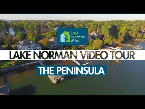 Lake Norman Real Estate Tour: The Peninsula   Lake Norman Mike