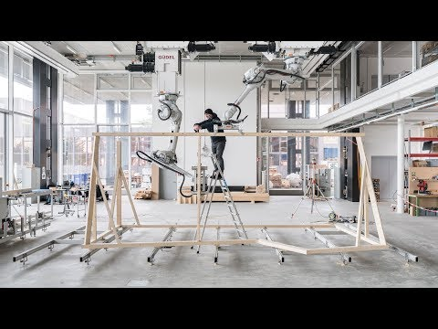 Digital construction method combines architecture with robotics and craftsmanship