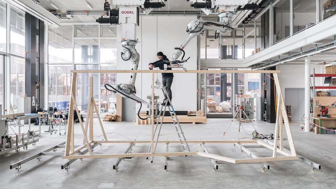 Digital Construction Method Combines Architecture With Robotics And