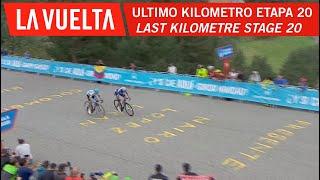 Last kilometer - Stage 20 - La Vuelta 2018