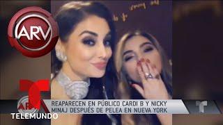 Cardi B y Nicki Minaj se encuentran en Milán | Al Rojo Vivo | Telemundo