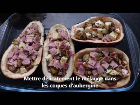 recette-aubergines-farcies-mozza-jambon