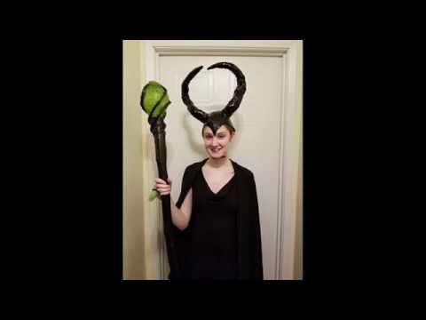 Diy Maleficent Staff Illuminated