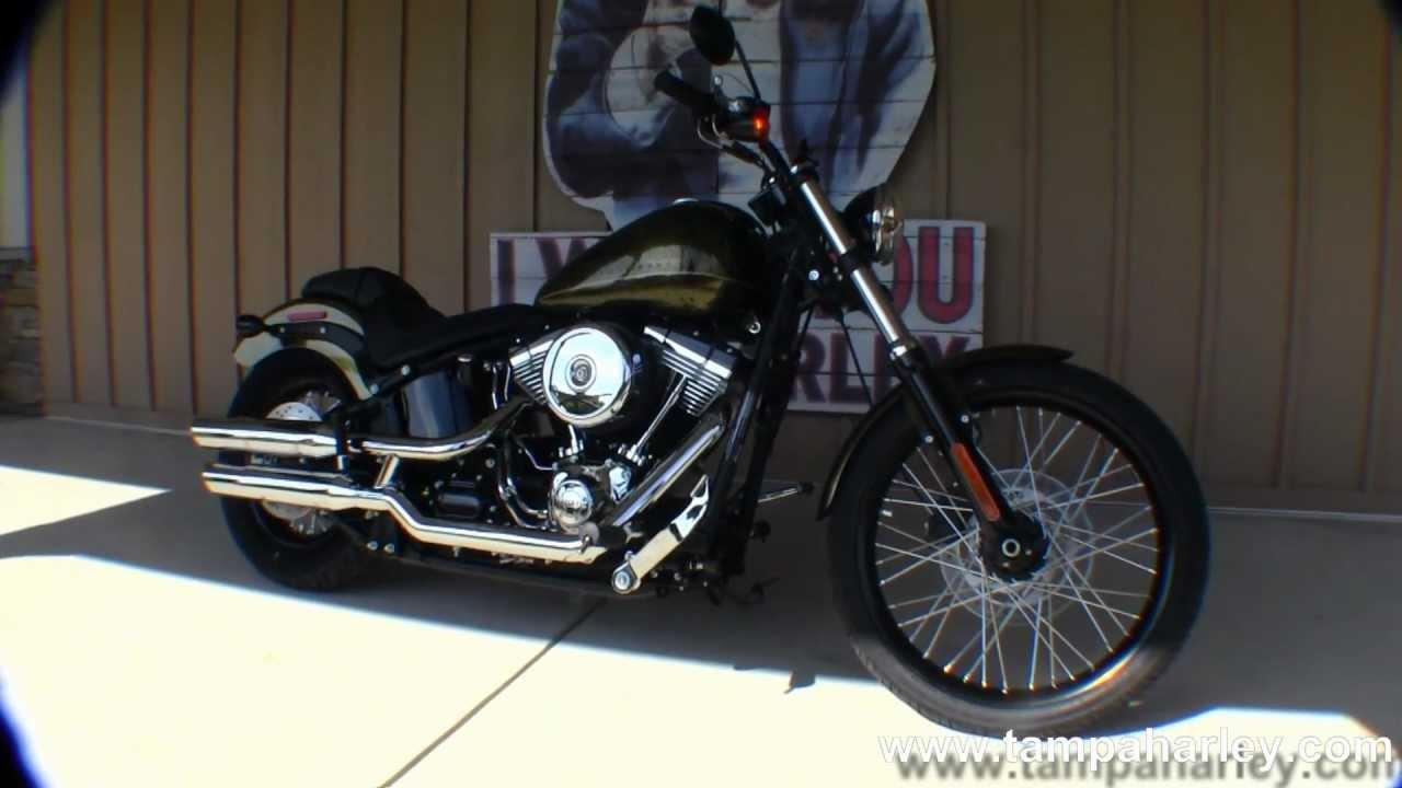 New 2013 Harley-Davidson Blackline FXS - YouTube