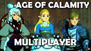 2 Player Split Screen Hyrule Warriors Age Of Calamity Zelda Hw Aoc Part 2 Youtube