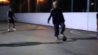 Vovô (Séan Garnier) vs Jogadores O futebol é para todos