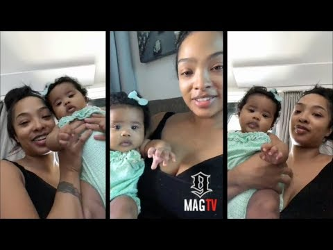 #LHHH: Princess Love & Daughter Melody In NY On IG Live!