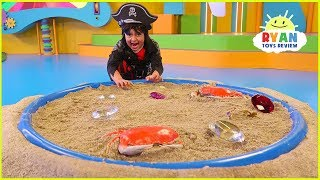Ryan's Mystery Playdate Pirate Treasure Hunt on Nickelodeon Today April 19!!!