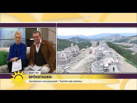 """Spökstaden i Turkiet fascinerar: """"Nu borde man spela in en film"""" - Nyhetsmorgon (TV4)"""