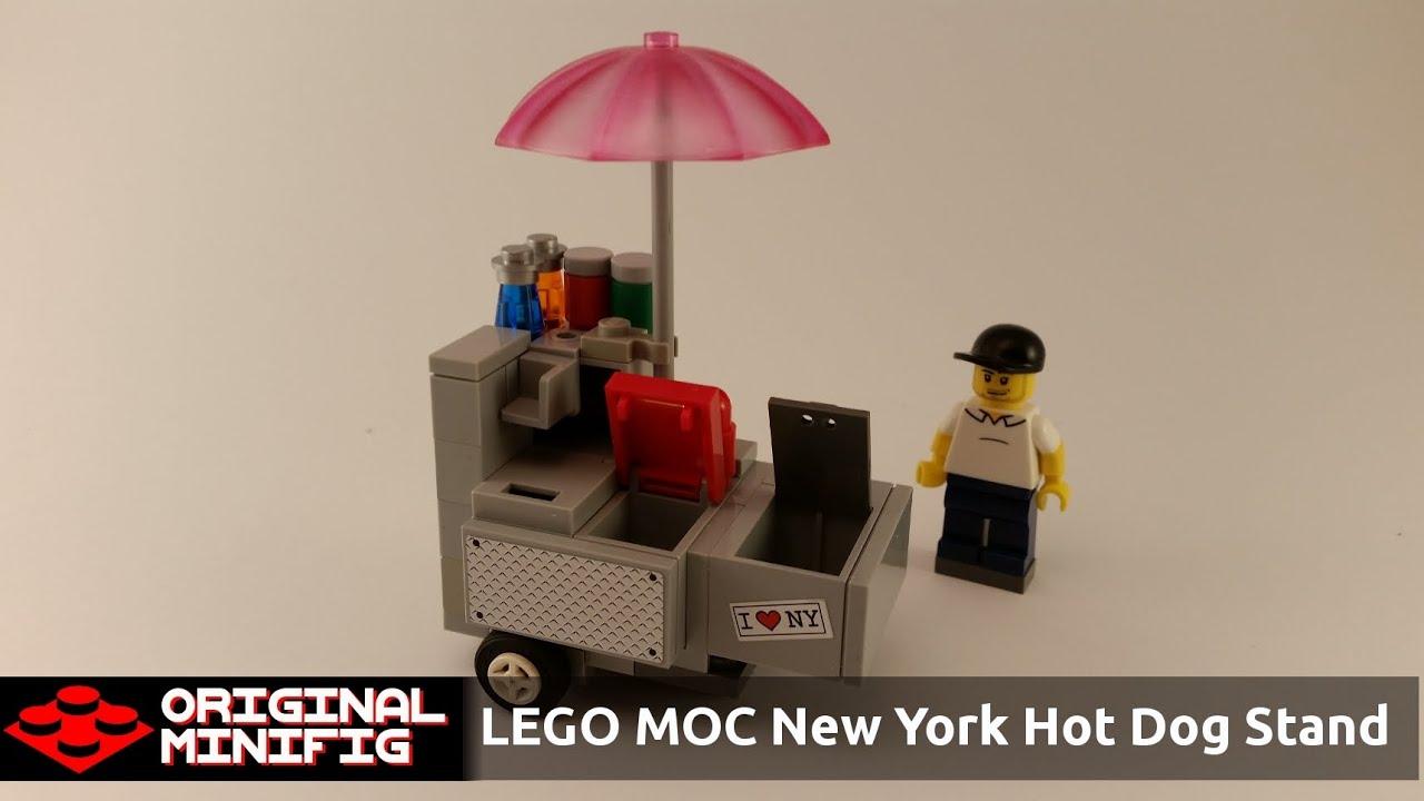 Lego City Hot Dog Stand