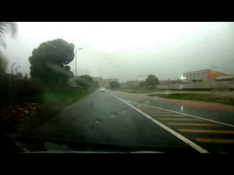 Unexpected hazard in wet weather driving