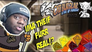 """GUESS THE  """"CATS OUTTA THE BAG!"""" no?  Cat Burglar: Tail Of Purrsuit  Letsplay/walkthrough"""