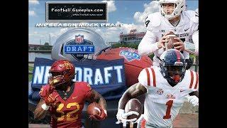 Football Gameplan's 2019 NFL Midseason Mock Draft