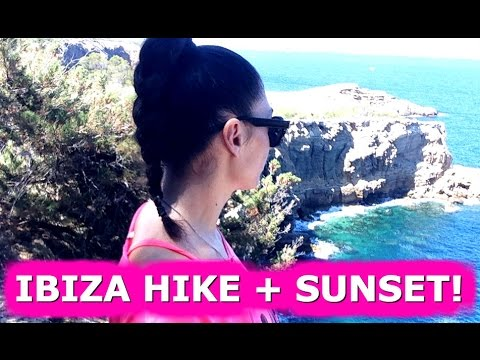 IBIZA HIKE + GORGEOUS SUNSET - TRAVEL VLOG 345 IBIZA | ENTERPRISEME TV