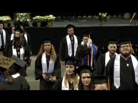 Fall 2018 Northern Kentucky University Commencement - 3PM Ceremony