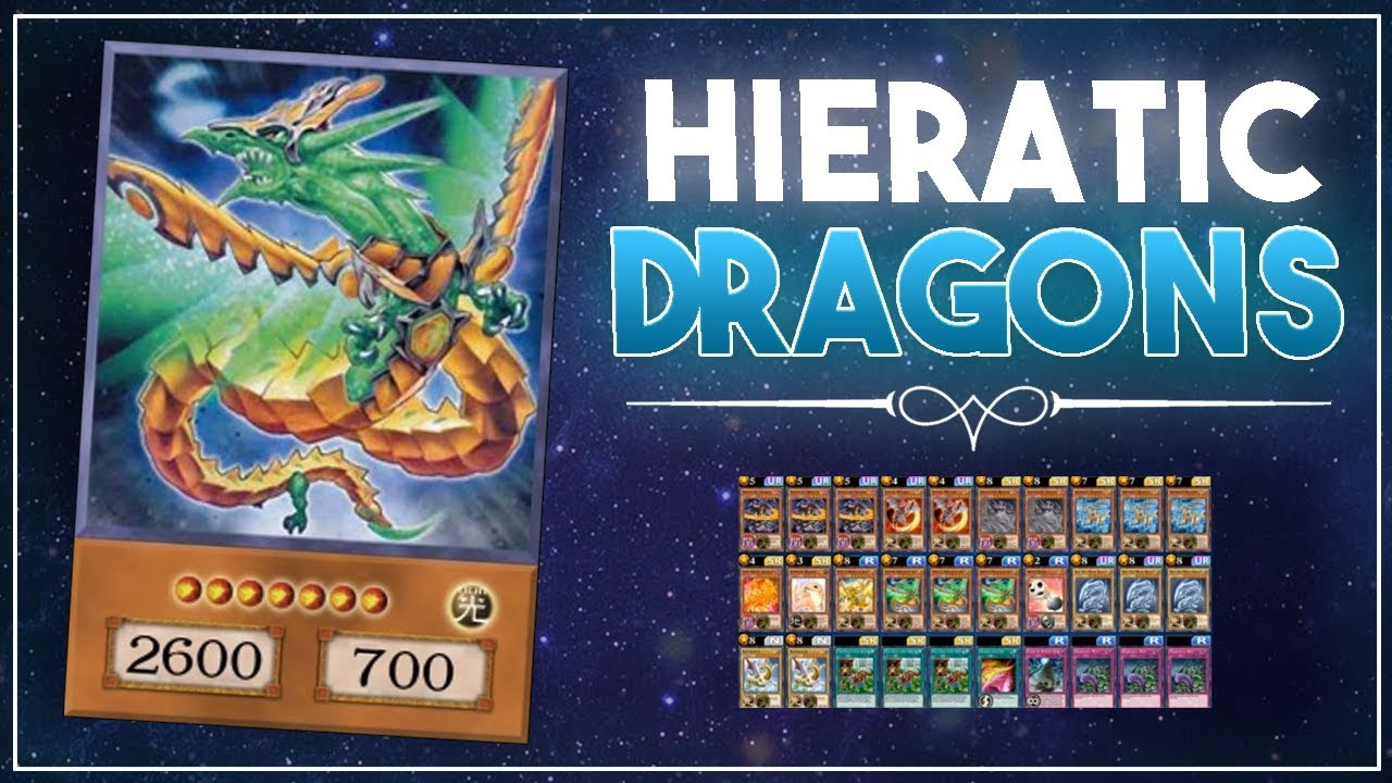 Hieratic Dragon of Asar // *THIS DECK IS NUTTY!* [Yu-Gi-Oh! Duel Links]