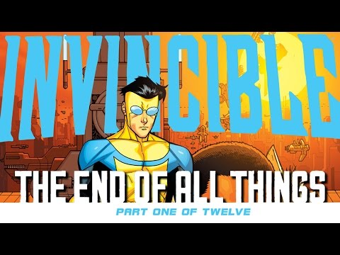 Robert Kirkman and The End of INVINCIBLE!