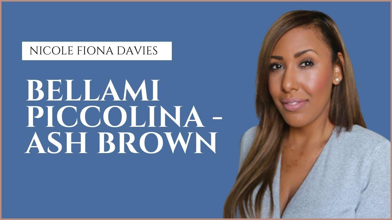 My New Bellami Hair Extensions Piccolina 18 120g Ash Brown