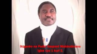 Padiri Gaspard Ntakirutimana muri Komite Nyobozi w