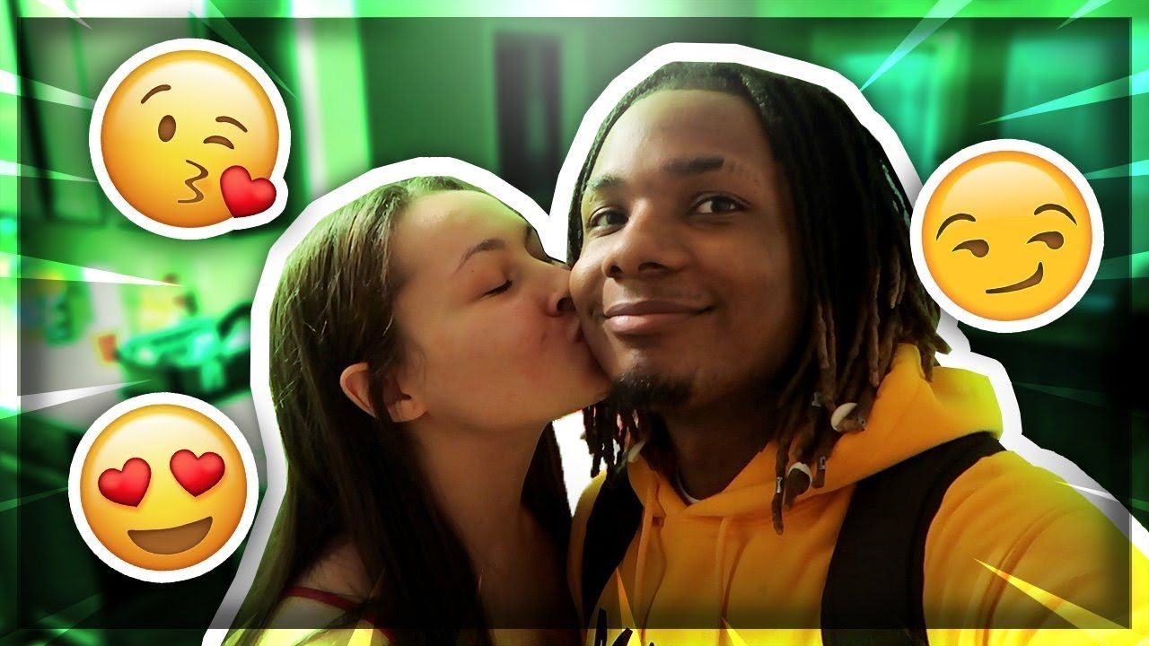 I TOLD MY CRUSH TO DUMP HER BOYFRIEND FOR ME! SHE KISSED ME!😍