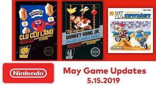 Nintendo Entertainment System - May Game Updates - Nintendo Switch Online