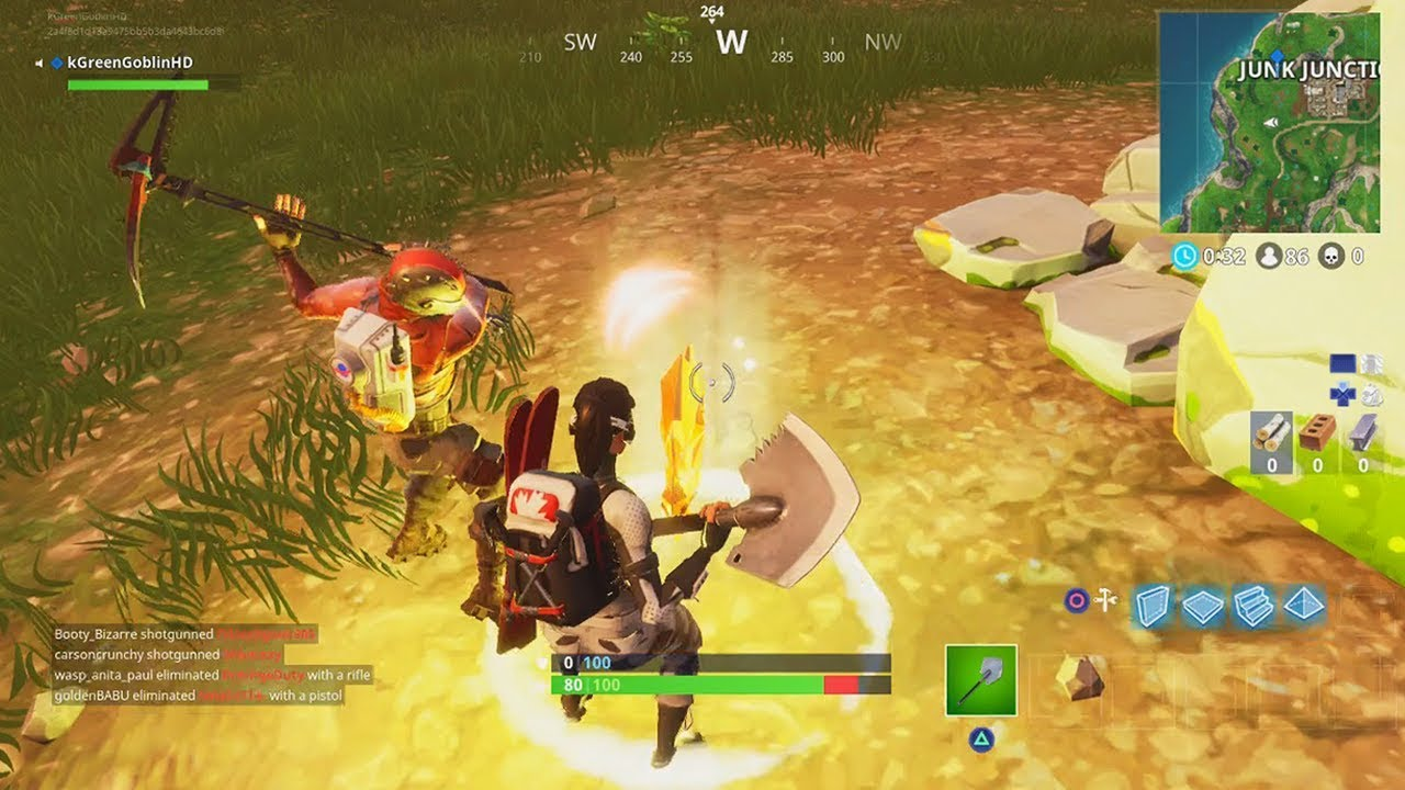 Follow The Treasure Map Found In Anarchy Acres Location Fortnite