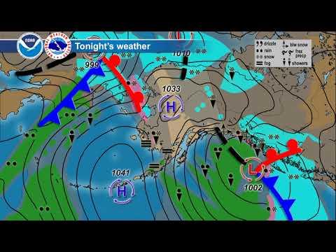 November 10, 2017 Alaska Weather Daily Briefing