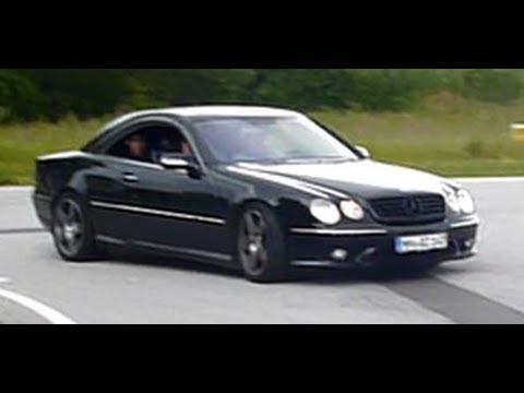 Mercedes benz cl 55 amg acceleration youtube for Mercedes benz cl 55 amg