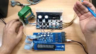 недорогой набор для сборки качественного усилителя на базе LM3886