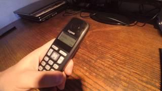 Радиотелефон GIGASET A220 Black; Код товара: 95851