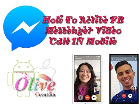 How To Active Video Call In Face Book Messenger in Ur Mobile