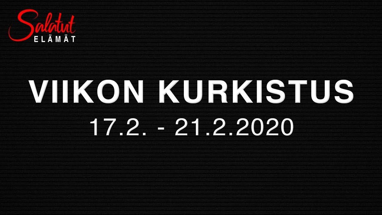 Salatut elämät päätösjakso 2020