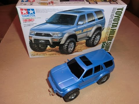 How to make a Tamiya slot car.(Scalextric) for Off-Road, Rally or Raid style events.