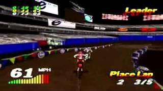 VMX Racing sur Playstation